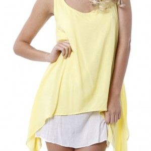 Bondi Dress Lemon a